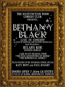 Bethany Black, 17 Feb 2012