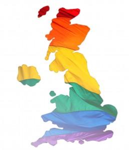 Rainbow LGBT map