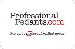 Professional Pedants