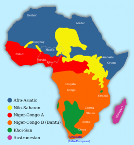 African language families Wiki Nigeria outlined
