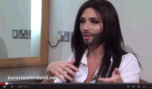 Conchita Wurst Eurovision Ireland interview