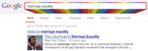 Google same-sex marriage search 2013