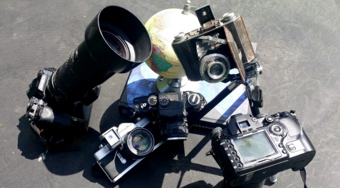 Photographer's Minolta Cameras