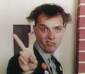 Rik Mayall as Rick in The Young Ones