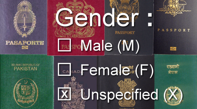 UK Parliament tables Non-Gendered Identity 3-option M-F-X Passports