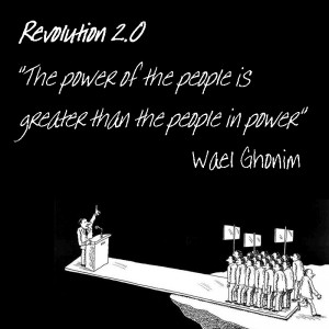 Wael Ghonim, Revolution 2.0 - The power of the people is greater than the people in power