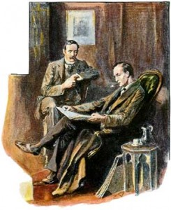 Holmes Paget 1903 The Empty House - The Return of Sherlock Holmes