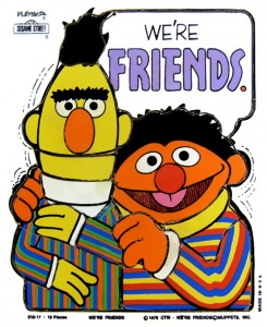 Sesame Street Bert and Ernie Friends