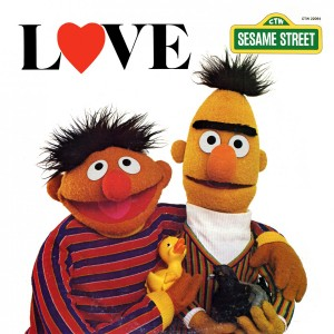 Sesame Street Bert and Ernie Love