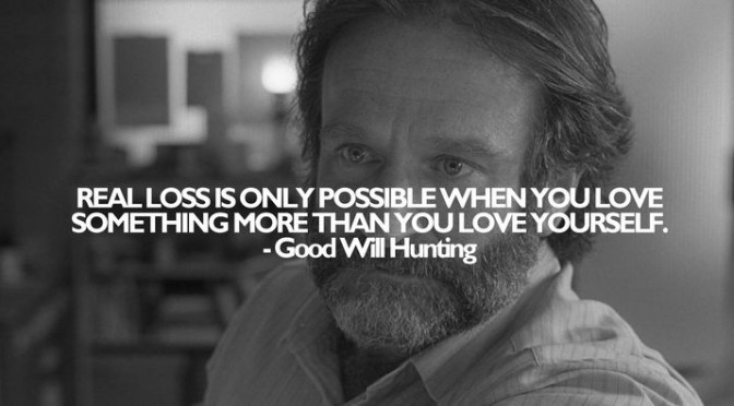 Robin Williams Good Will Hunting Real Loss