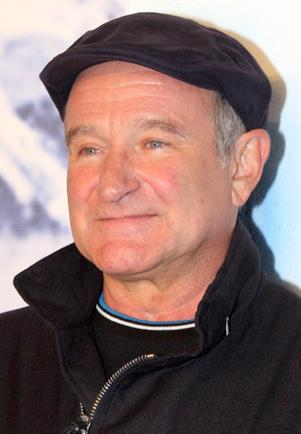 Robin Williams at Happy Feet 2