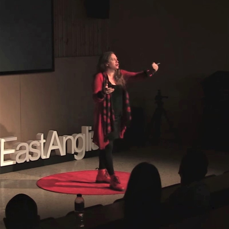 Be Different, Be Yourself - Katy Jon Went, TEDx talk UEA, 2018