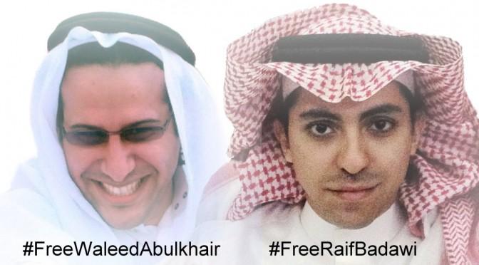 Free Waleed Abulkhair Free Raif Badawi
