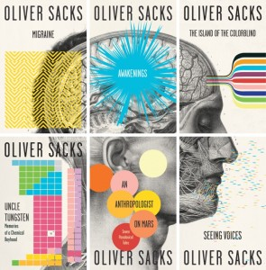 Oliver Sacks six vintage book titles new covers