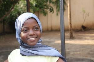 African girl Tanzania