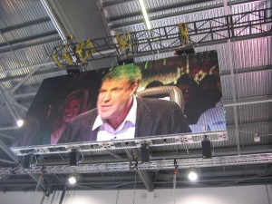 Jeremy Clarkson big screen 2006 via flickr Ben Metcalfe