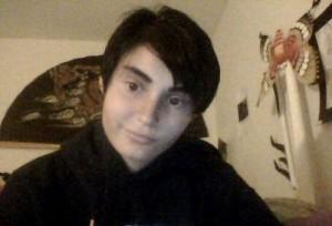 Trans teen Zander Mahaffey via Twitter