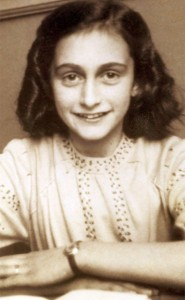 Anne Frank author of Diary of a Young Girl, who died at Bergen-Belsen concentration camp in 1945