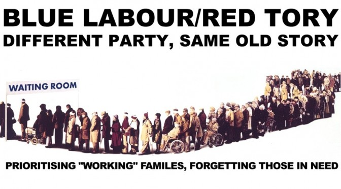 Alternative Labour Election poster