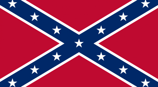 Southern US Confederate Battle Flag