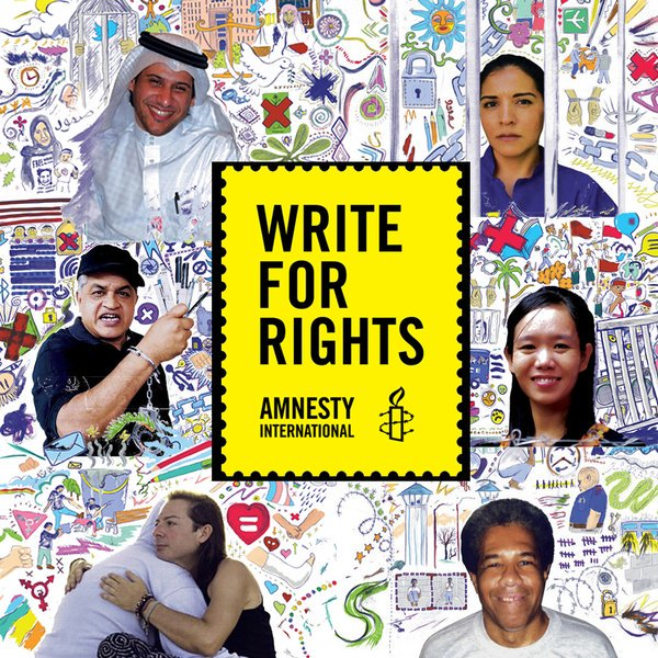 Amnesty International Write for Rights