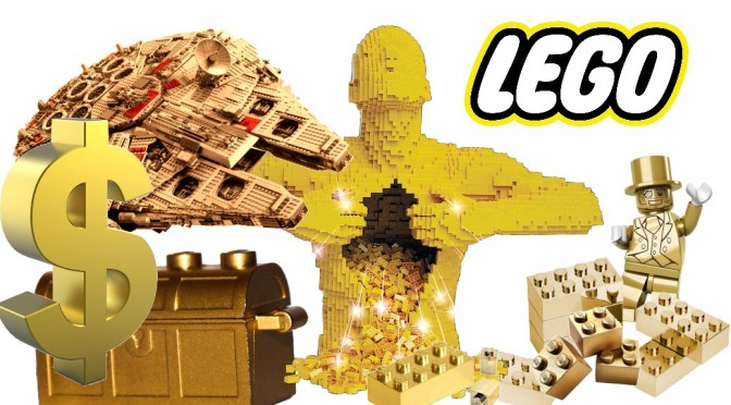 LEGO Brick Gold Bullion Investment