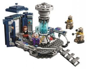 LEGO 21304 Doctor Who Tardis Dalek