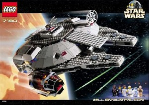 LEGO Set 7190 Star Wars Millennium Falcon 2000