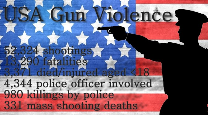 Gun Violence in America, Police Officer Mass Shootings