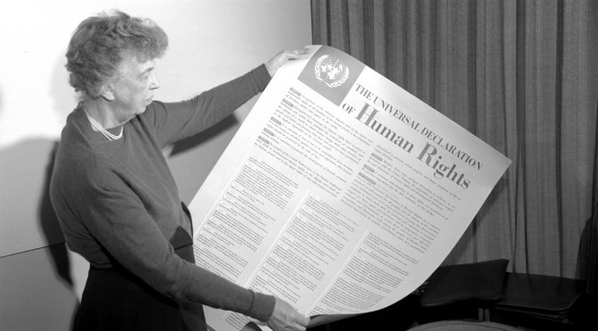Universal Declaration of Human Rights Eleanor Roosevelt