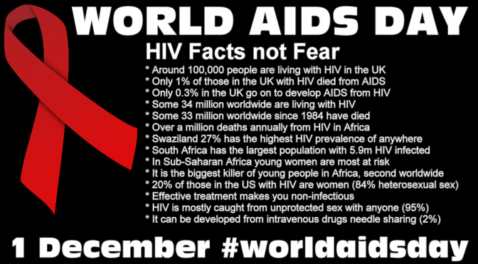 World AIDS Day some Sex & Gender Myth Busting about HIV