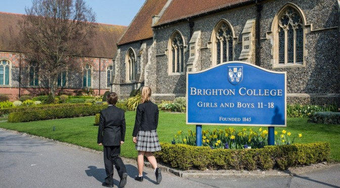 Brighton College transgender boys girls uniform policy change