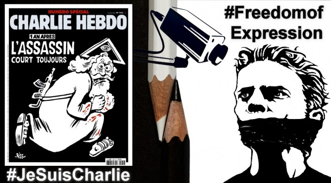 A year on from Charlie Hebdo freedom of expression and criticism vital