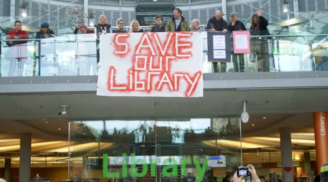 Save Our Library, Norfolk County Council Cuts, Norwich Protest