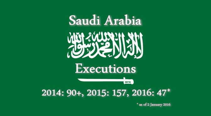 Saudi Arabia mass executions & death sentences a Human Rights travesty