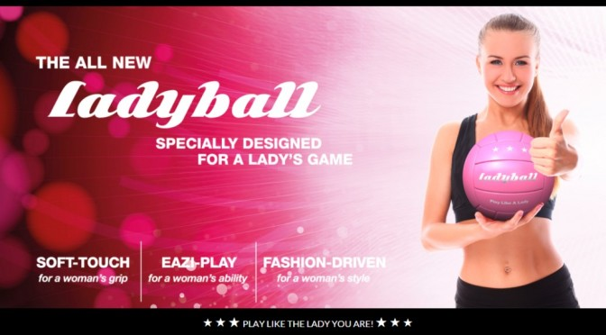 Sexist soft-touch patronisingly Pink Ladyball released for Women's Football