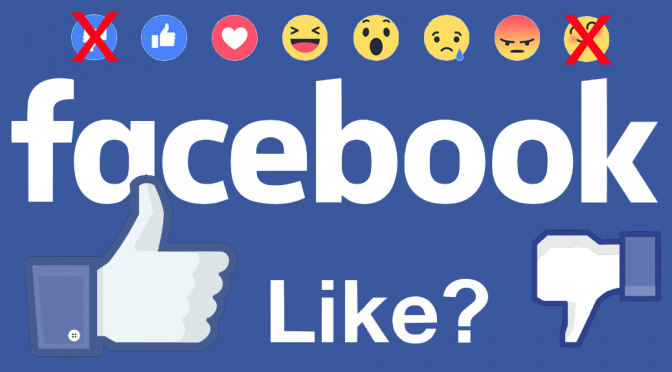 Facebook Likes, Now you can React to a Post Six Ways with Emoticons