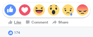 Facebook New Likes Reactions Emoticons