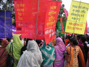 8 March 2005 International Womens Day rally in Dhaka, Bangladesh Trade Union Kendra - Photo by Soman, Wiki