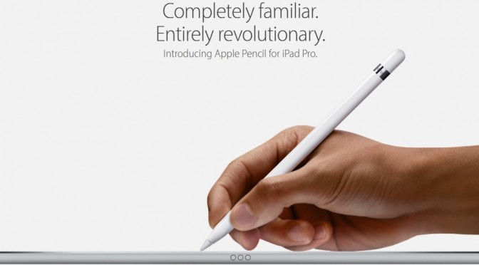 Apple iPad Pro Pencil, not the first Tablet or Stylus by a long chalk