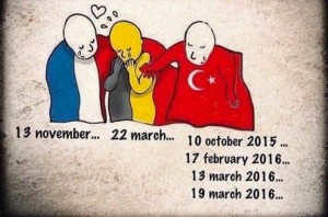 France, Belgium terror, what about Turkey