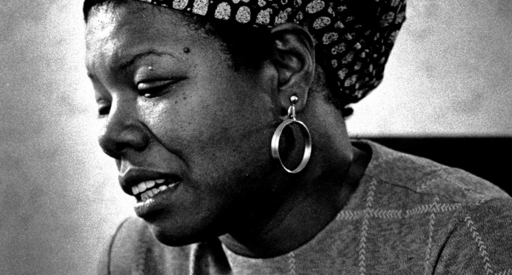 Maya Angelou 1974