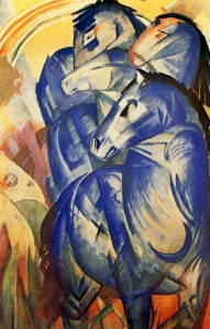 The Tower of Blue Horses, Franz Marc, 1913