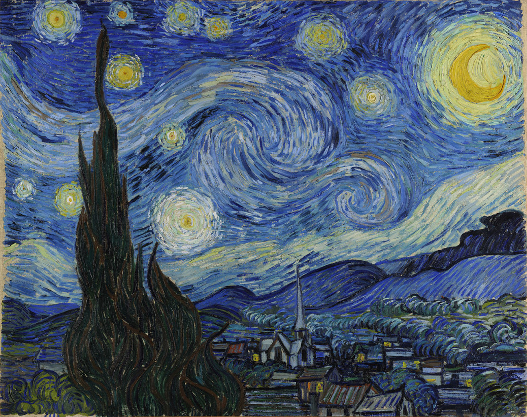 anxiety and vincent Color and emotion — a psychophysical analysis of van gogh's work.