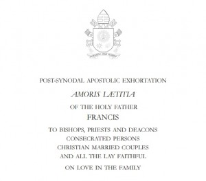 Amoris Laetitia Pope Francis on the Joy of Love