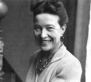 Simone de Beauvoir, d.1986