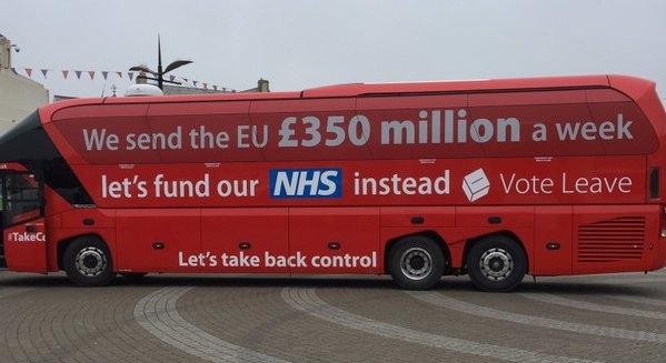 Brexit EU 350m Bus Poster Claim