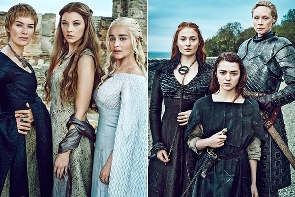 Game of Thrones Season 6 Women, Entertainment Weekly portraits
