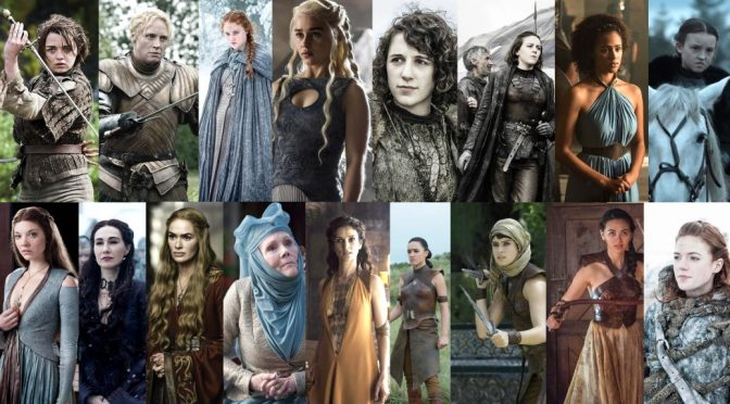 Game of Thrones Women Warriors Queens Knight Captain Priestess