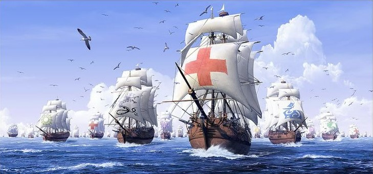 Spanish Armada ships